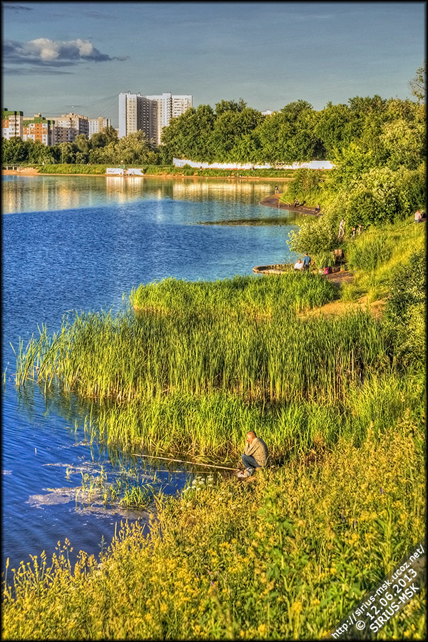 Борисовский пруд, 12.06.2013